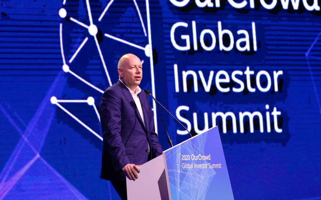 PRESS RELEASE: 'Deal of the Century' Negotiator Jason Greenblatt Closes OurCrowd Global Investor Summit as Venture Deals of the Next Decade Take Center Stage